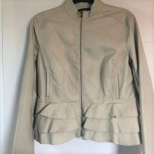 Bagatelle Faux Leather Peplum Jacket NWOT.